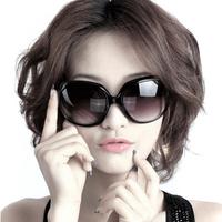 Fashion sunglasses oversized Women big black glasses box star fashion vintage sunglasses free shipping