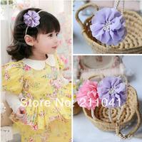 Wholesale 10pcs/lot hairwear for girl hairband kids hair accessories Pearl headband clip children hair accessory PHB-0123