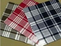 100% block plaid cotton male women's handkerchief towboats table napkin style