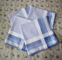 Male light color 42 100% cotton satin handkerchief towboats hanjin 100% cotton
