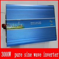 Free Shipping 3000W 12V to 220V 60Hz Pure Sine Wave Off  Inverter solar for home system 3KW