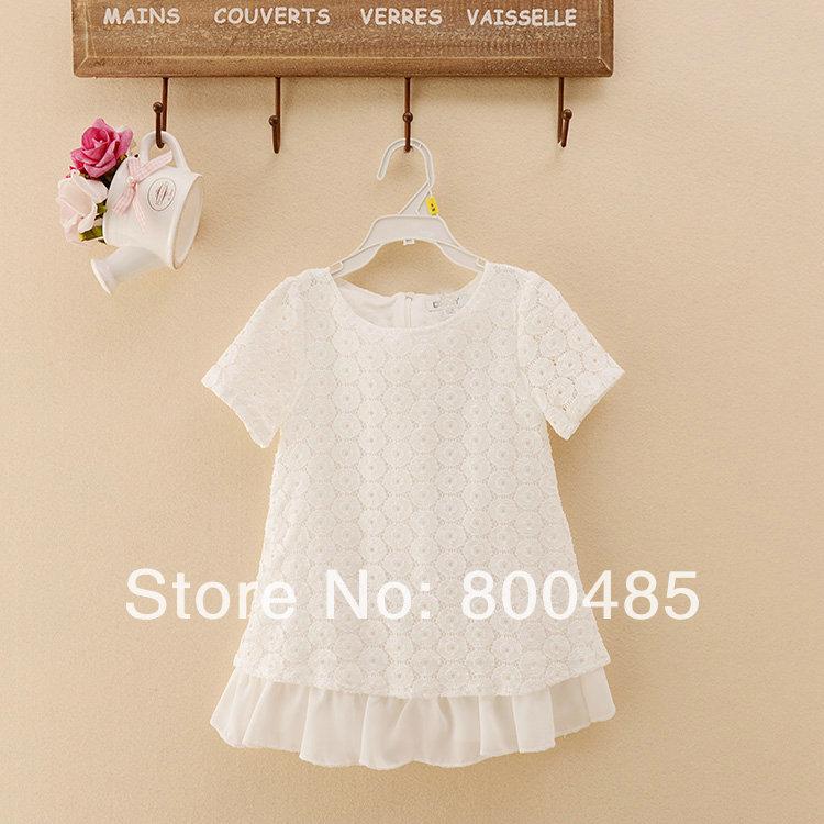 Korean little princess fan Sun Flower Girl Dress(China (Mainland))