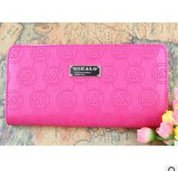 Carteiras Women Free Shipping Solid Print Letter PU Leather Korean Wallet Women's Clutch Purse High Quality Desigual Handbags