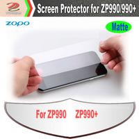 2pcs/lot original high definition ZOPO ZP990 ZP990+ screen protector film, cell phones screen guard, free shipping
