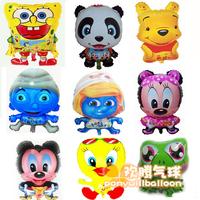 45*45CM cartoon animal balloons ballon nursery children's toys freeshipping
