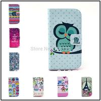 For Motorola Moto G DVX XT1032 Flowers cartoon animation animal design Magnetic Holster Flip Leather phone Case Cover Skin B901