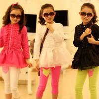 New arrival Girls / Kids Jacket 100% cotton wear spring autumn baby coat girls,girls coat children's Blouses