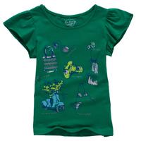 girls t-shirt print brand t shirt children clothes size 7-16 years kids clothing