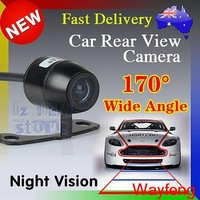 Free Shipping 170'' wide viewing angle 12V Night Vision Car Rear View Camera Reverse Backup Camera