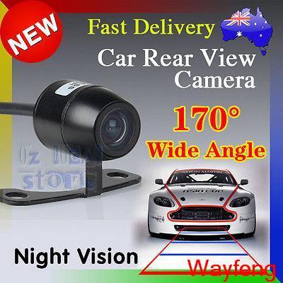 Free Shipping 170'' wide viewing angle 12V Night Vision Car Rear View Camera Reverse Backup(China (Mainland))