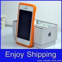 wholesale DHL free shipping 50 pcs/lot plastic bumpers frame for iphone 5s 5