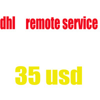 DHL remote area service shipping cost 35 usd