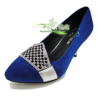 2014 spring shoes scrub rhinestone ol popular 8236 hot-selling women's shoes