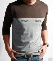Fashion Shirt Men 2014 Summer Shirts For Mens Casual Shirts Men's brand Shirt Man Long Tshirt