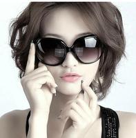 Trend 2014 big box sunglasses sun-shading mirror women's sun glasses fashion all-match sunglasses