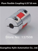 Best Price!Plum Flexible Coupling 6.35mm 10mm flexible shaft for screw shaft cnc parts stepper motor