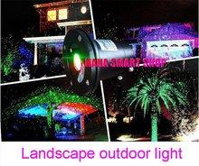 Etanche laser Paysage light.Sky étoiles extérieure Vert Rouge projecteur de lumière laser pour l'extérieur , IP64 660nm Gren lumière laser(China (Mainland))