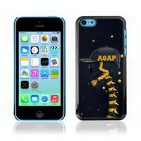 Asap Skull Illustration Hard Skin Cover Case For Apple iPhone 5C, Not for 5S (IP5C-0000003) FREE SHIPPING