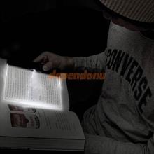 Creative Plastic LED Light Panel Lightwedge Reading Lamp Light(China (Mainland))
