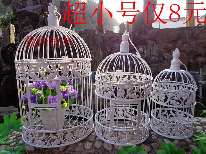 2014 New Arrival Special Offer Metal M Gaiolas Decorativas Fashion Iron for Bird cage Wedding Decoration Bird Cage Props(China (Mainland))