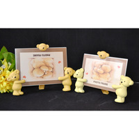 6 inch cartoon bear mirror child gift photo frame baby photo frame photo frame swing sets free shipping