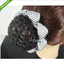 popular crocheted hair accessories