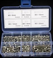 Stainless Steel Hex Socket Head Cap Screw M3 Qty 180pcs Accessories Kit M3*20mm