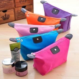 5pcs/lot big capacity cosmetics case waterproof wash bag creative napkin organizer bag 5 colors free shipping(China (Mainland))