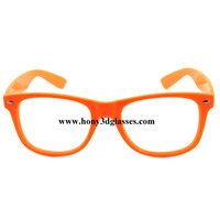HONY plastic diffraction glasses clear diffraction film