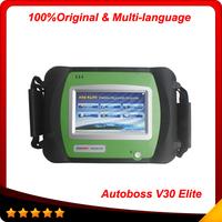 2014 New Arrival 100% Genuine SPX Autoboss Elite Super Scanner Support Multi-brand Vehicles Autoboss V30 Elite 3 years warranty