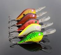 Quality Crankbait Fishing Lure Minnow Crank Bait Artificial Bait Lures 10CM 11G 5pcs/lot Hard Crank Lure