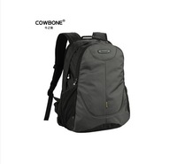 Male cowbone backpack travel backpack female preppy style double-shoulder laptop bag school bag