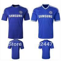 14/15 Chelsea  Lampard Terry OSCAR TORRES HAZARD WILLIAN FREE SHIPPING Grade Original thailand quality  jersey soccer shirt