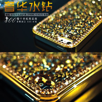 5pcs Luxury full rhinestone  for apple    for iphone   s phone case protective case