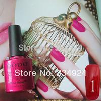 Wholesale - Gule New Hot DODO  Soak Off Nail Gel Polish For Salon UV Gel 162 Colors 10ml (Choose 10Colors+1 Base+1 Top Coat)