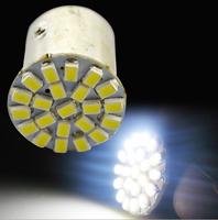 Car led lamp 1156 /1157 BA15S 22 LEDS 22SMD Leds light 3020/1206 SMD turn signal reverse light 5pcs/lot
