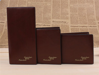 2014 new model 5102 BOVIS wallet  fashion purse gentleman gift popular  cool coin purse many color