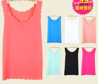 11 Colors! Exclusive! S-XL, 2014 New Hot Sale green red Stripe sexy Women Chiffon Tops, Tank Tops, T shirt, Loose Blouse A14