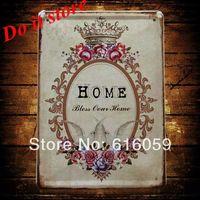 [ Do it ] Vintage Tin Signs PUB House Cafe Retro Metal painting Retro Craft Decor 15*21 CM N-44
