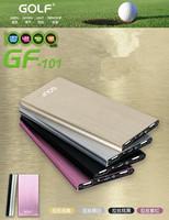 GOLF   GF-017   2600mAh  Mini finger     mobile   power      supply