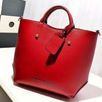 Hot Vintage Celebrity Girl Faux Leather Tote PU Hand Bags for women fashion designer shoulder bag Woman Handbag free shipping