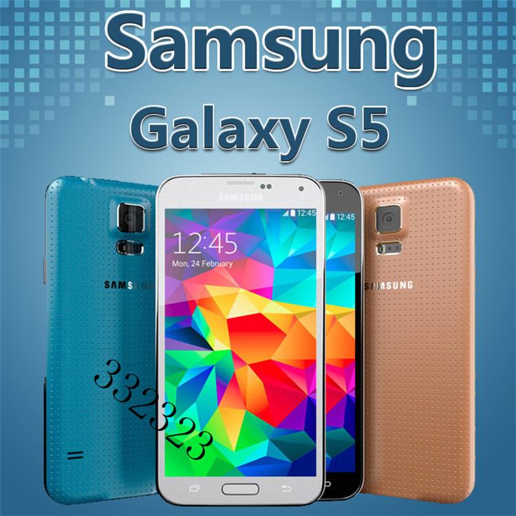 2014 Arrival Samsung Galaxy S5 Phone i9600 Phone 5.1 inch Smartphone S5 i9600 Phone Quad Core 2GB RAM Free Shipping(China (Mainland))