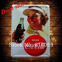 [ Do it ] Vintage Tin Signs PUB House Cafe Retro Metal painting Retro Craft Decor 15*21 CM N-63