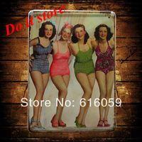 [ Do it ] Vintage Tin Signs PUB House Cafe Retro Metal painting Retro Craft Decor 15*21 CM N-61