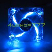 EL0018 80mm PC CPU Heatsink Cooler Case Cooling Fan With Blue LED