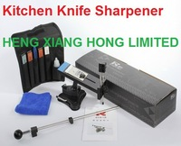 Free shipping New Arrival Professional Sharpening System Fixed Angle 4 Stones Kitchen Kits Knife Sharpener