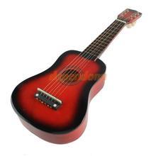21 polegadas de 6 cordas da guitarra acústica Iniciantes Red Prática Instrumento Musical(China (Mainland))