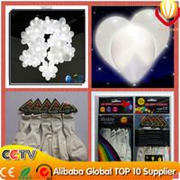 white light led balloon wholesales Toys glow balloon lighting balloon toys Cheap for party supplies 50pcs/lot free shipping