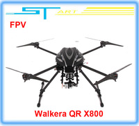 Free shipping Walkera QR X800 Brushless motor FPV GPS Drone RC Quadcopter BNF RTF helicopter VS QR X350 pro D battery helikopter