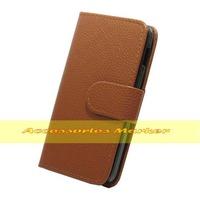 1 pcs Newest Litchi line Desgin Flip PU Leather Case For LG Optimus L5 II Dual E455